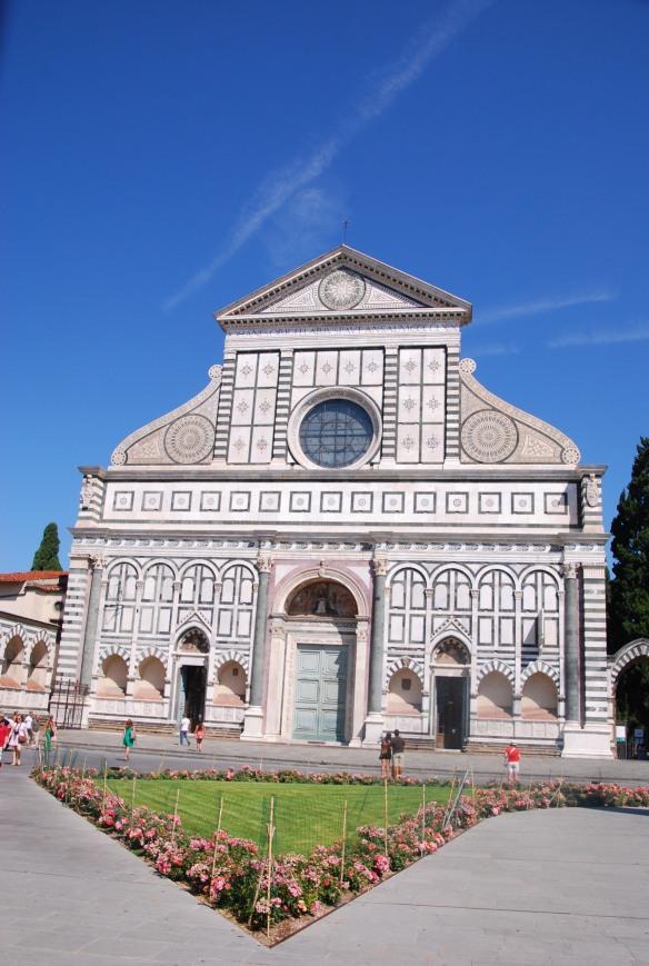 Façade de Santa Maria Novella