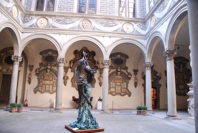 Cour du Palazzo Medici-Riccardi.