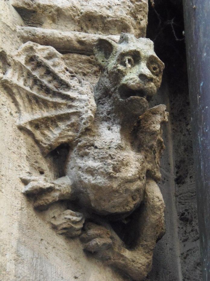 Sympathique petit monstre du Neues Rathaus.
