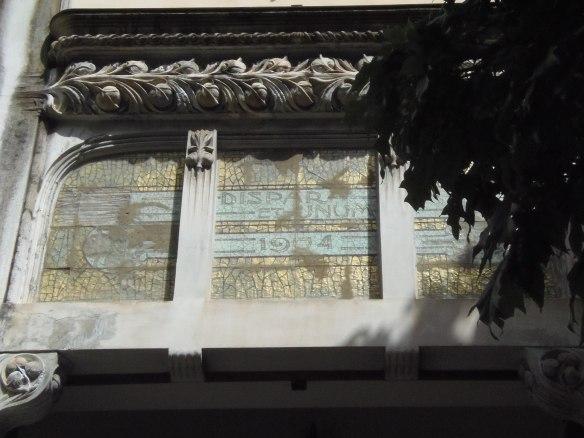 Détail de la Villa Ida.