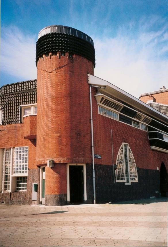 Entrée du Musée Het Schip d'Amsterdam. Crédit photo Het Schip.