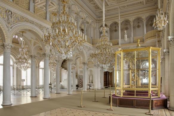 La Salle du Pavillon, l'Ermitage.