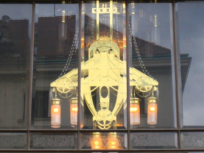 Elément de décor de la Maison municipale.
