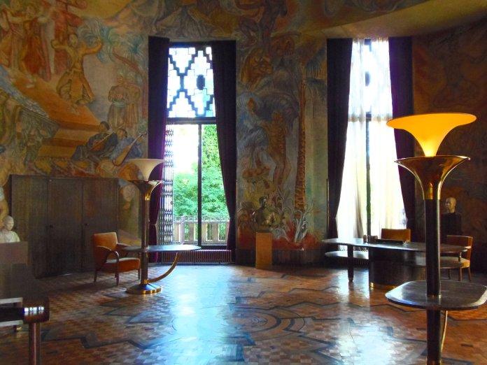 Salon du maréchal Lyautey.
