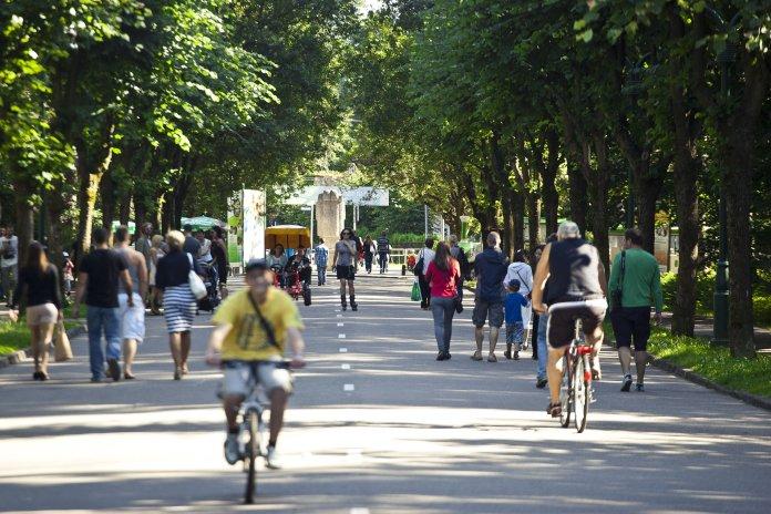 A Riga, Mezaparks est un quartier très vert où il fait bon se promener. Crédit photo Rigas mezi.