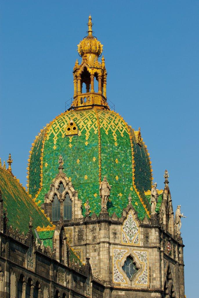 Tour du musée des Arts décoratifs de Budapest. Crédit photo musée des Arts décoratifs de Budapest.