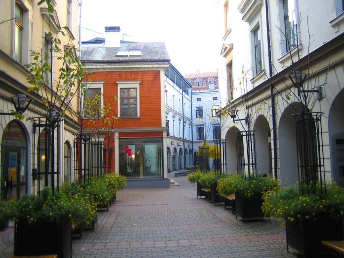Rue intérieure du Bergs Bazar (Riga).