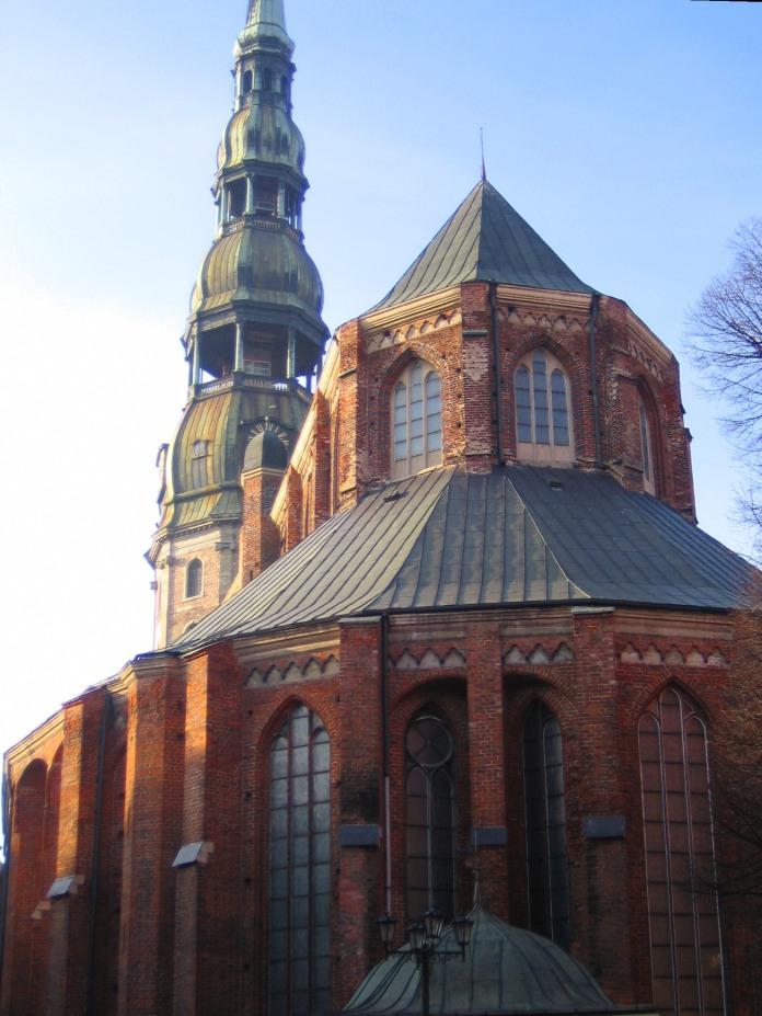 Cathédrale de Riga.