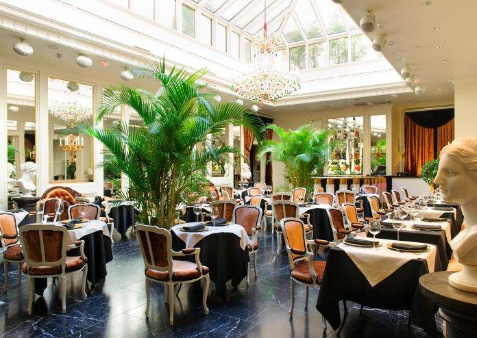 Restaurant du Grand Palace Hôtel (Riga). Crédit photo Grand Palace Hôtel.