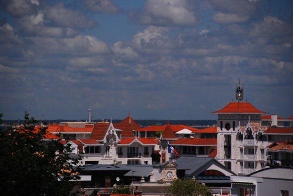 Panorama d'Arcachon depuis les hauteurs de la Ville d'Hiver.