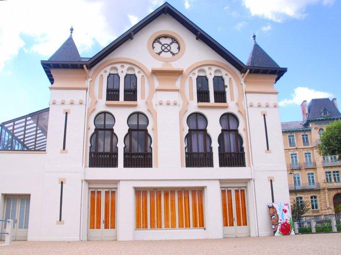 """L'ancien """"chalet"""" à Salies de Béarn."""