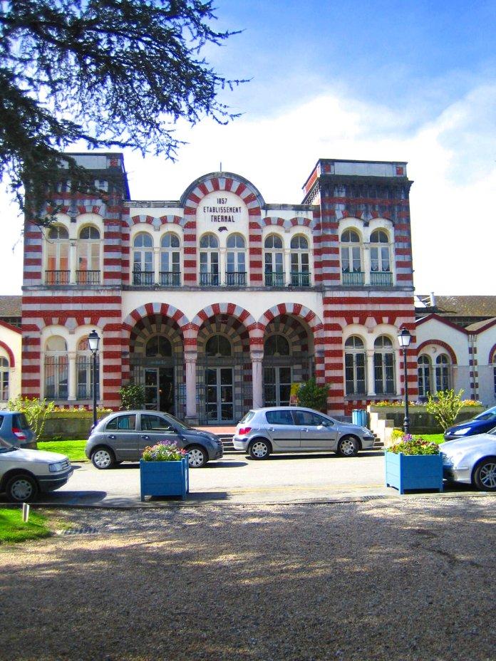 Les thermes de Salies-de-Béarn.