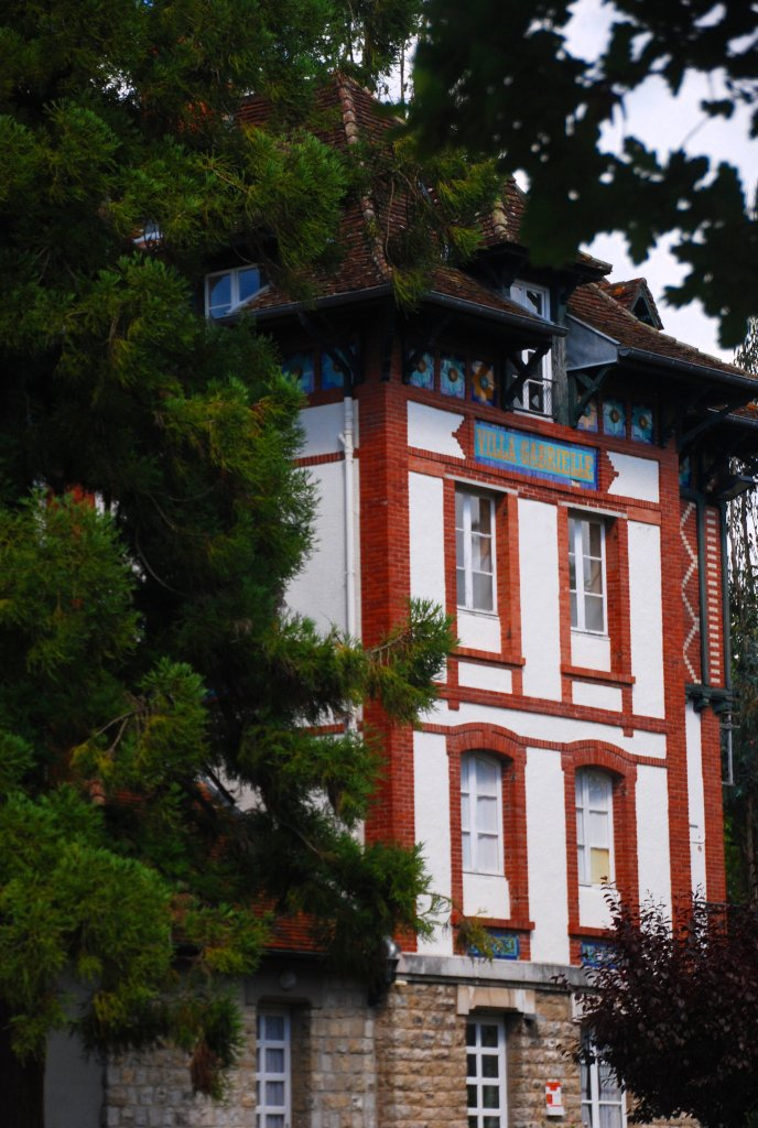 Villa Gabrielle au sein de l'ensemble du Bellevue.