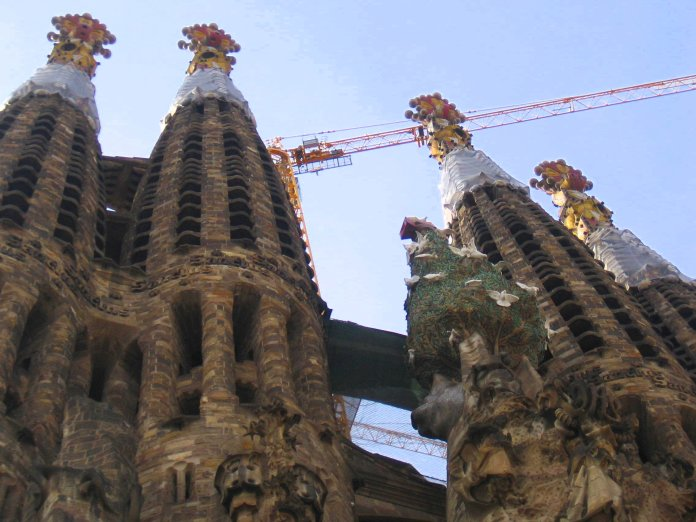 La Sagrada Familia à Barcelone.