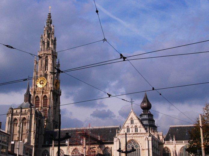 Cathédrale d'Anvers, Antwer Antwerpen Belgium
