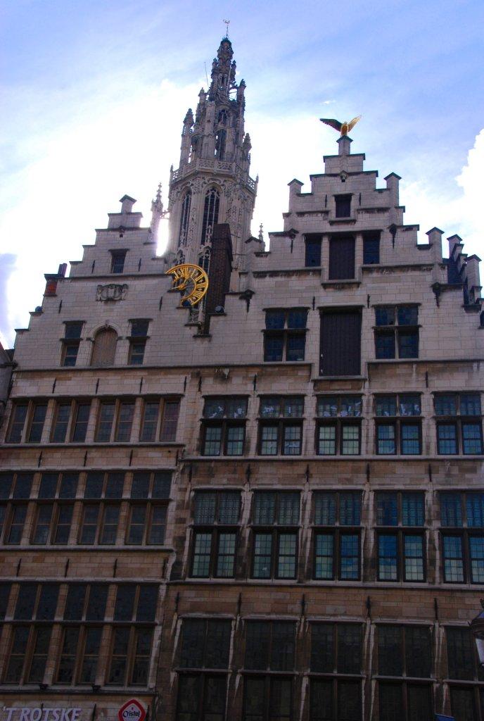 Cathédrale Anvers, Antwerp, Antwerpen, Belgium, centre ancien
