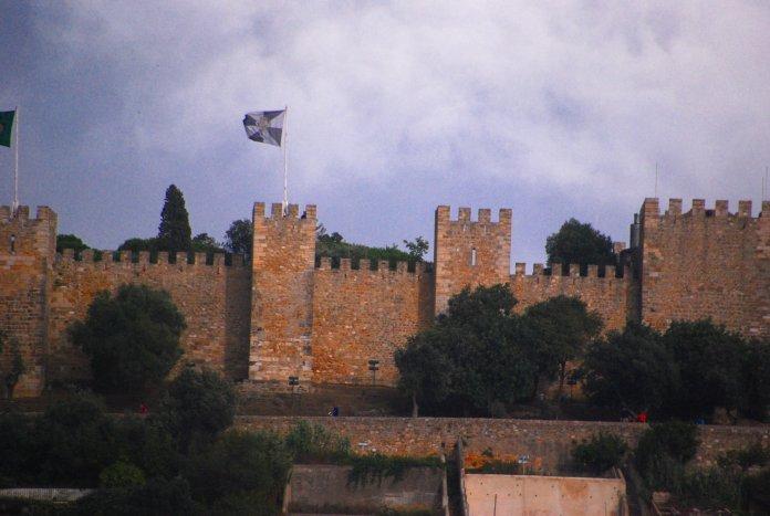 Château Sao Jorge, Lisbonne, Lisboa, Portugal
