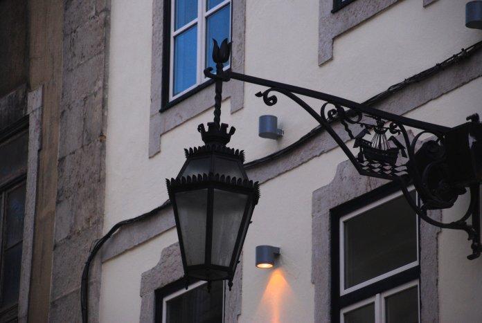 Eclairage, Lisbonne, Lisboa, Portugal.