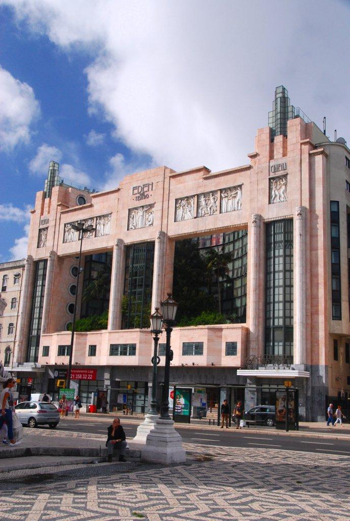 Eden, place Restauradores, Lisbonne, Lisboa, Portugal