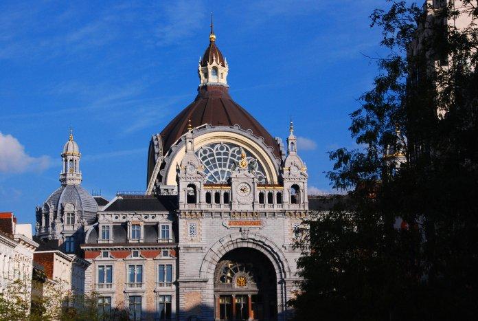 Gare centrale Anvers, Antwerp, Antwerpen, Belgium, Flandres.