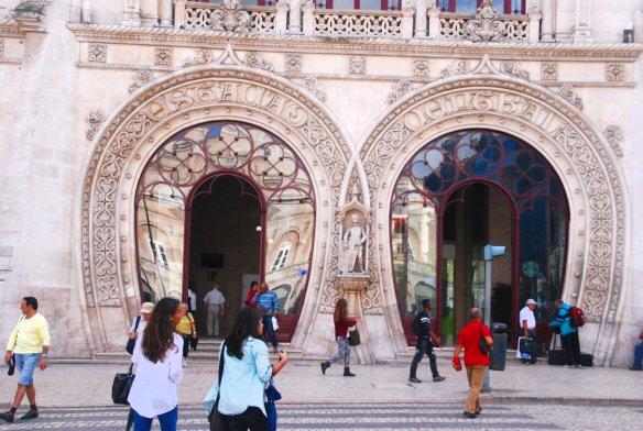 Gare du Rossi, Lisbonne, Lisboa, Portugal.