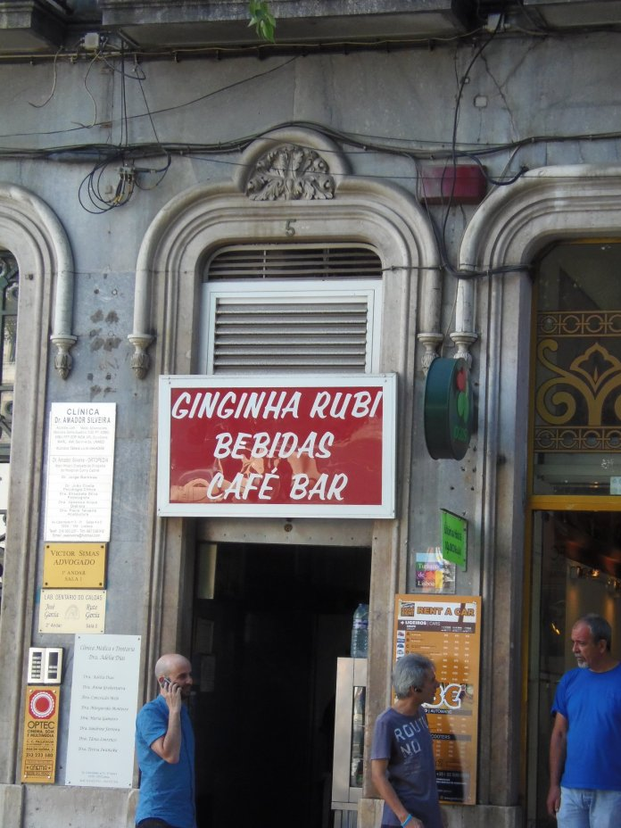 Ginginha, Lisbonne, Lisboa, Portugal.