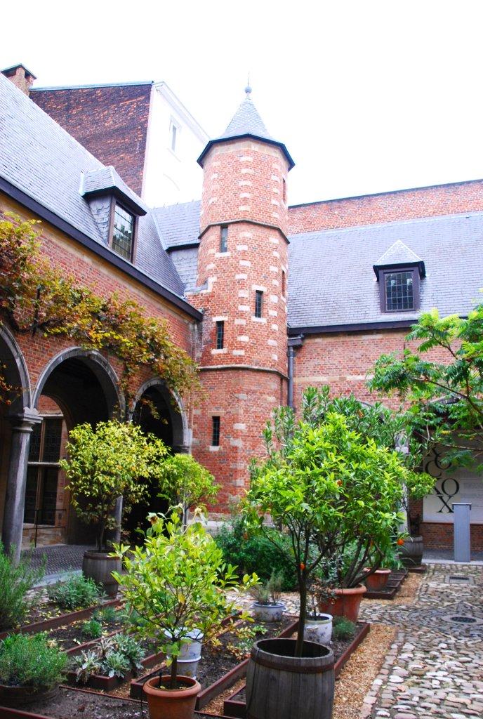 Tourelles, musée Rockox, Anvers, Antwerp, Antwerpen, Belgium, Flandres
