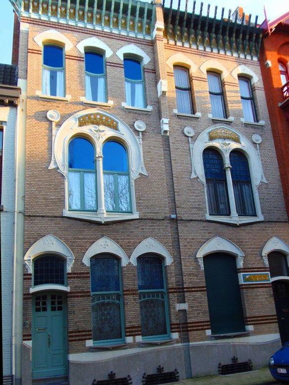Encadrements, Zurenborg, Anvers, Antwerp, Antwerpen, Belgium, Flandres, Art nouveau