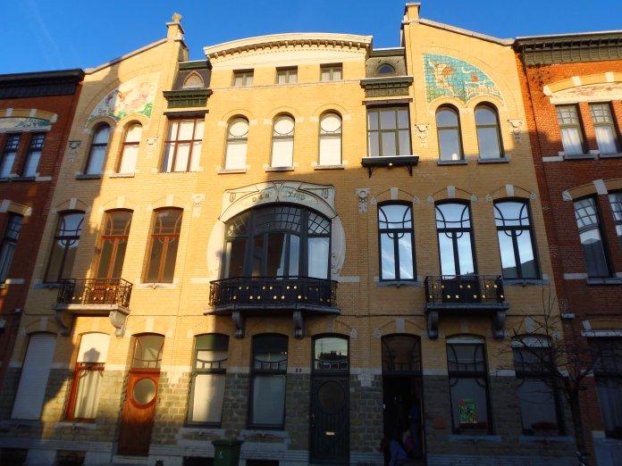 Symétrie, Zurenborg, Art nouveau, Anvers, Antwerp, Antwerpen, Belgium, Flandres