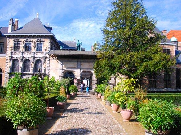 Jardin Rubens, Anvers, Antwerp, Antwerpen, Belgium, Flandres