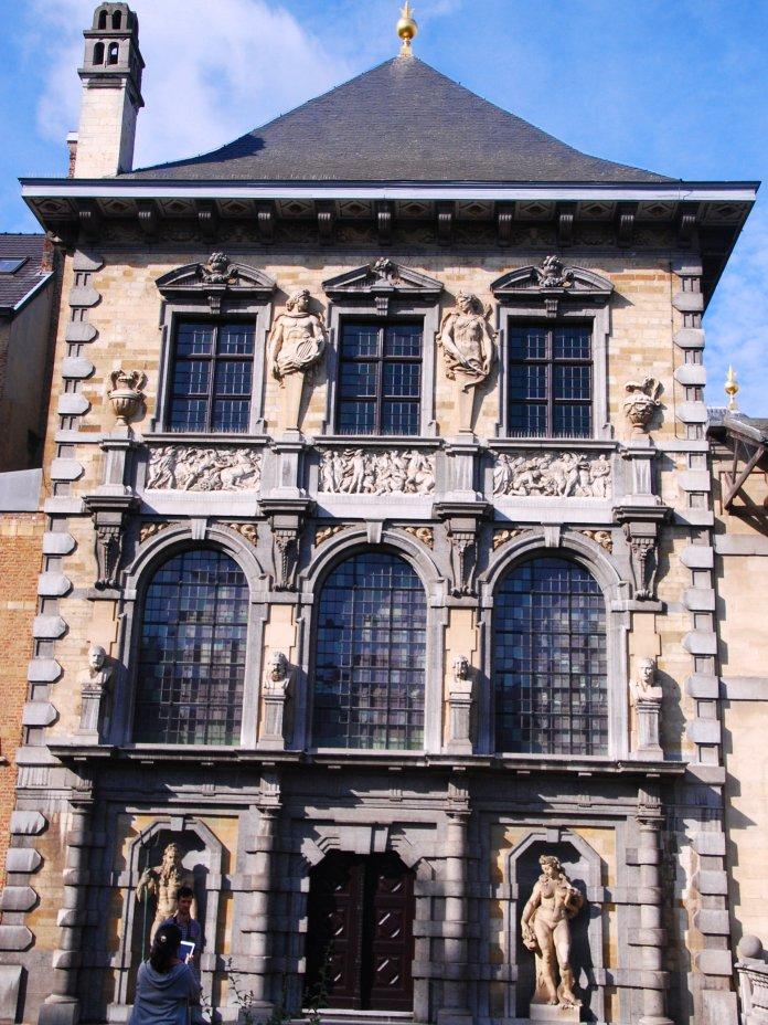 Arrière, Rubens, Anvers, Antwerpen, Belgium, Flandres