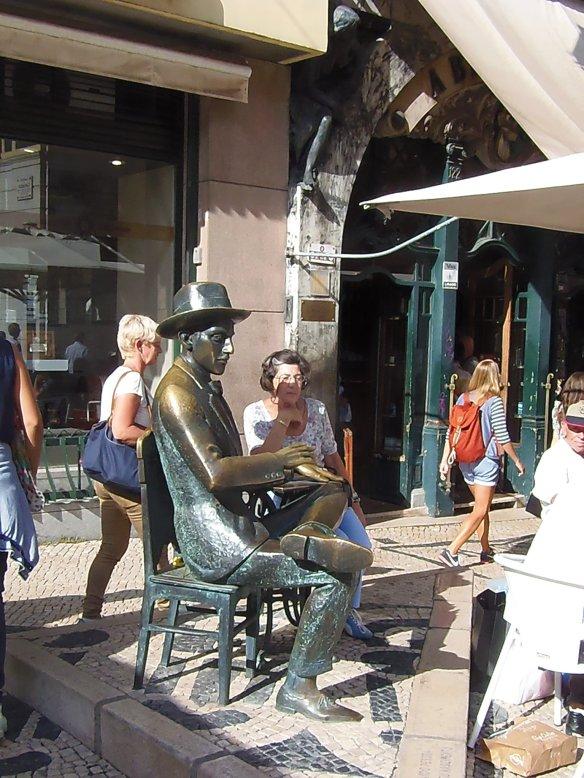 Pessoa, A Brasileira, Lisbonne, Lisboa, Portugal