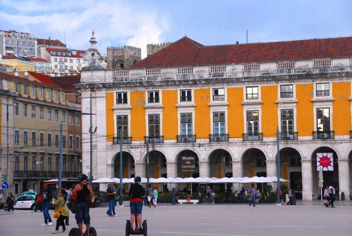 Cathédrale Sé, place do Comercio, Lisbonne, Lisboa