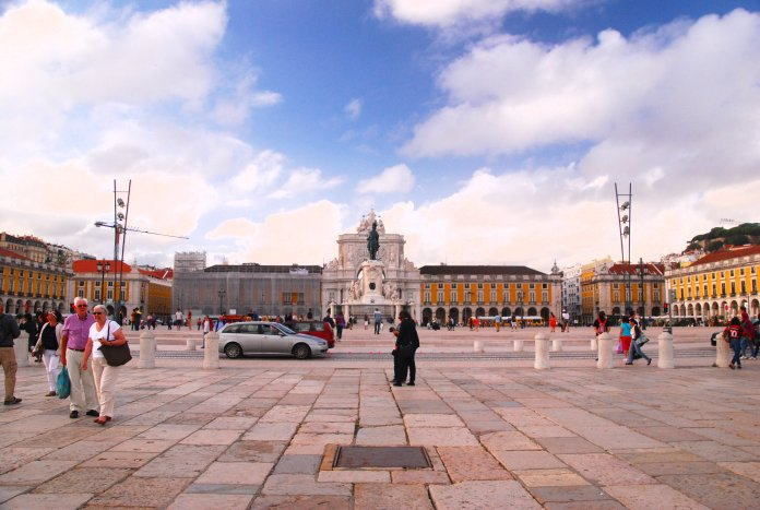 praça do Comercio, Lisbonne, Lisboa, Portugal