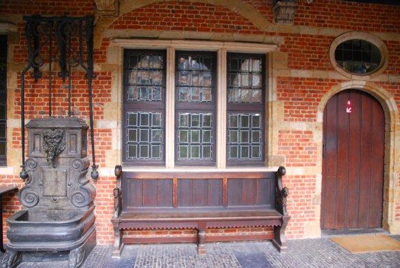Banc, Plantin Moretus, Anvers, Antwerp, Antwerpen, Belgium, Flandres