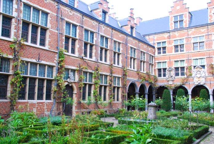 Jardin Plantin Moretus, Anvers, Antwerp, Antwerpen, Belgium, Flandres