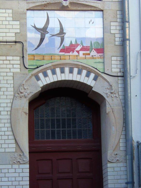 Hirondelles, Zurenborg, Anvers, Antwerp, Antwerpen, Belgium, Flandres