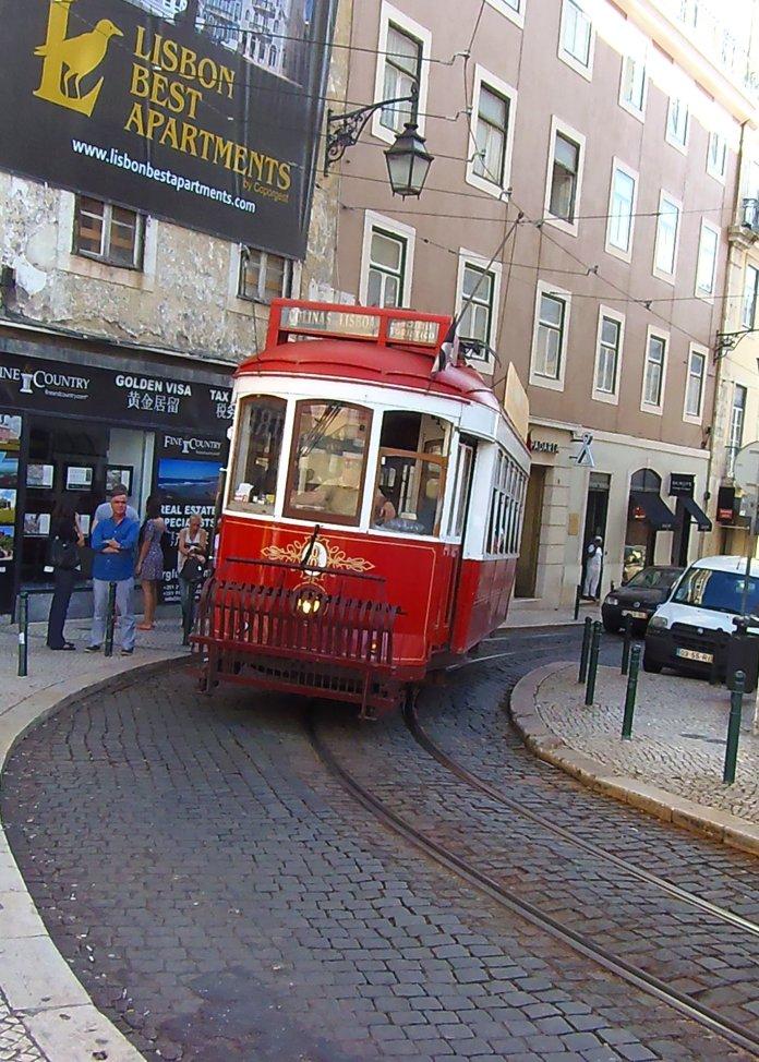 Tramways, Lisbonne, Lisboa, Portugal