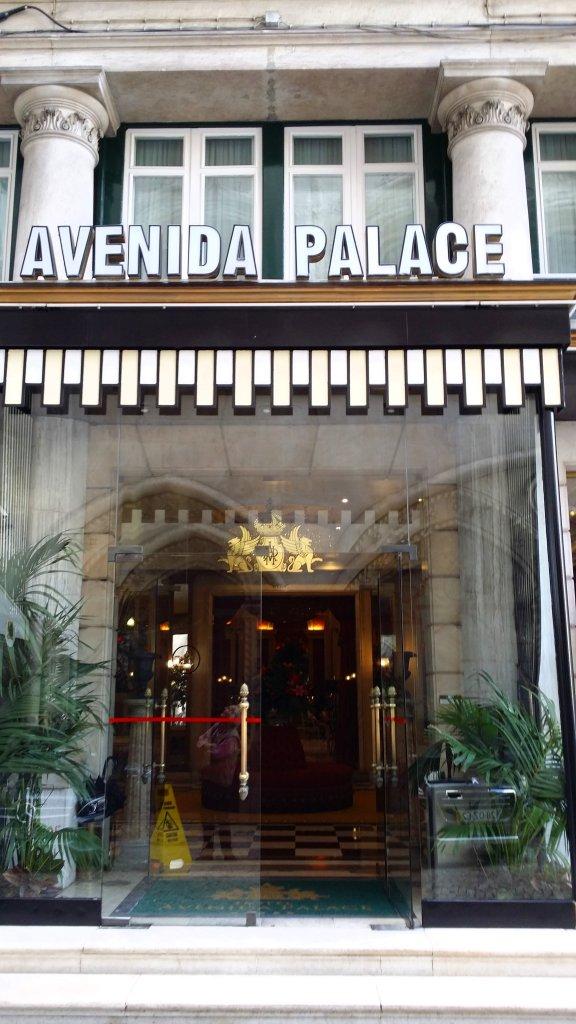 entrée Avenida Palace Lisbonne Lisbon Lisboa