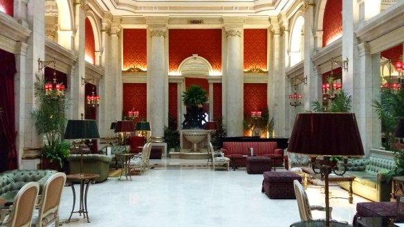 grand hall Avenida Palace Lisbonne Lisbon Lisboa
