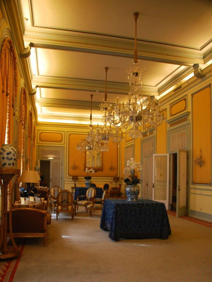 grand salon Avenida Palace Lisbonne Lisbon Lisboa