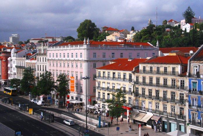perspective Avenida Palace Lisbonne Lisbon Lisboa