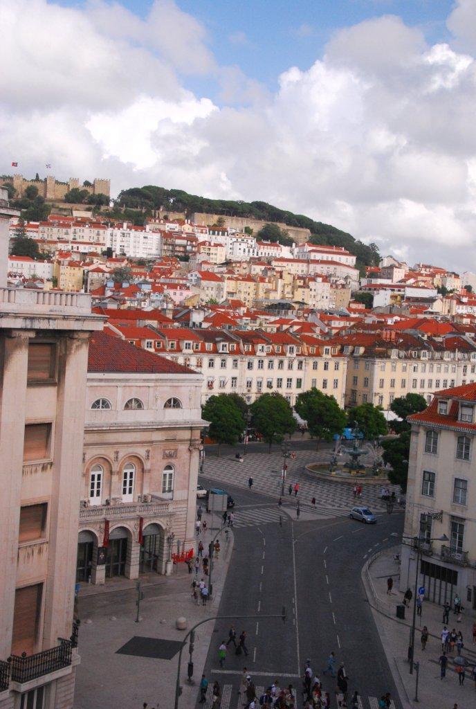 vue depuis chambre Avenida Palace Lisbonne Lisbon Lisboa
