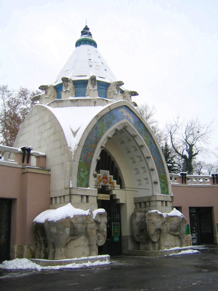 bâtiment entrée zoo Budapest City Breaks AAA+
