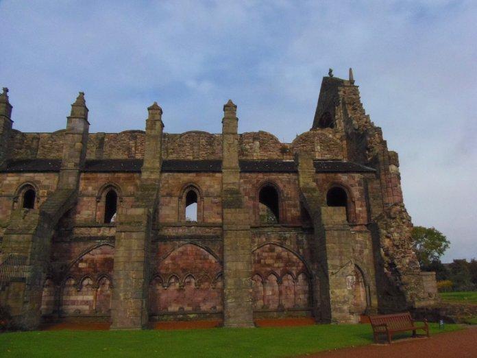 Holyrood Abbey Edimbourg Edinburgh