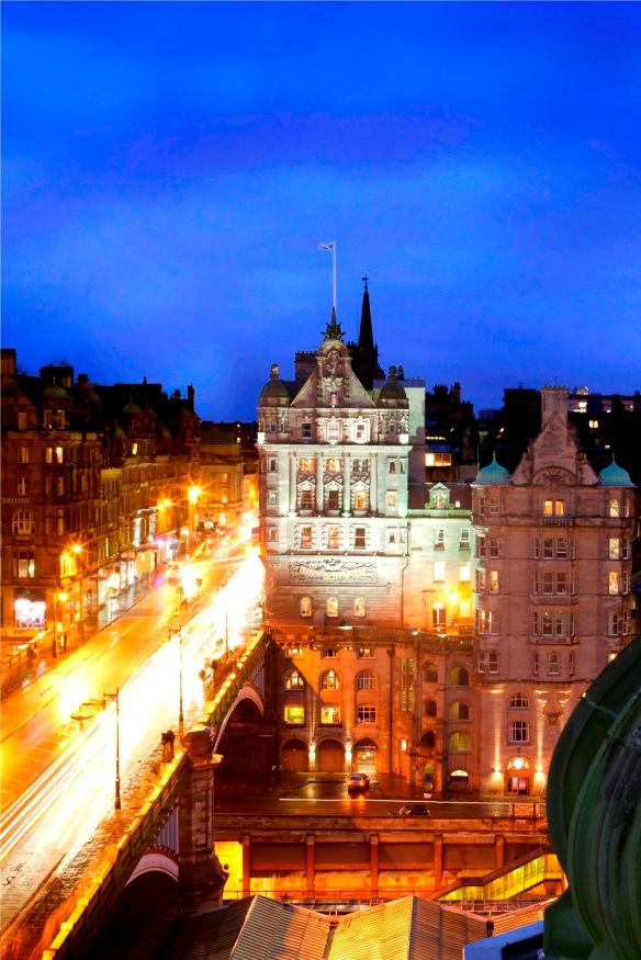 Silhouette Scotsman Edimbourg Edinburgh