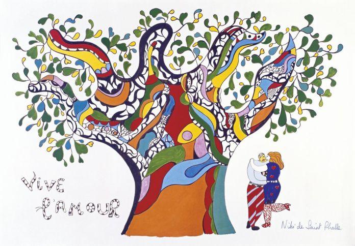 Vive l'amour Niki de Saint Phalle