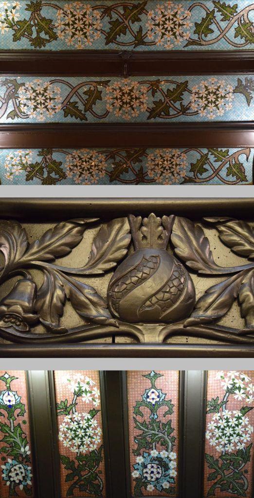 détail restauant Hôtel Espana Barcelone Barcelona