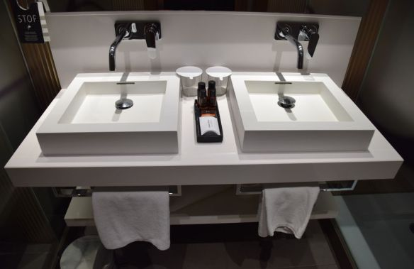 Salle de bains hôtel Espana Barcelone Barcelona