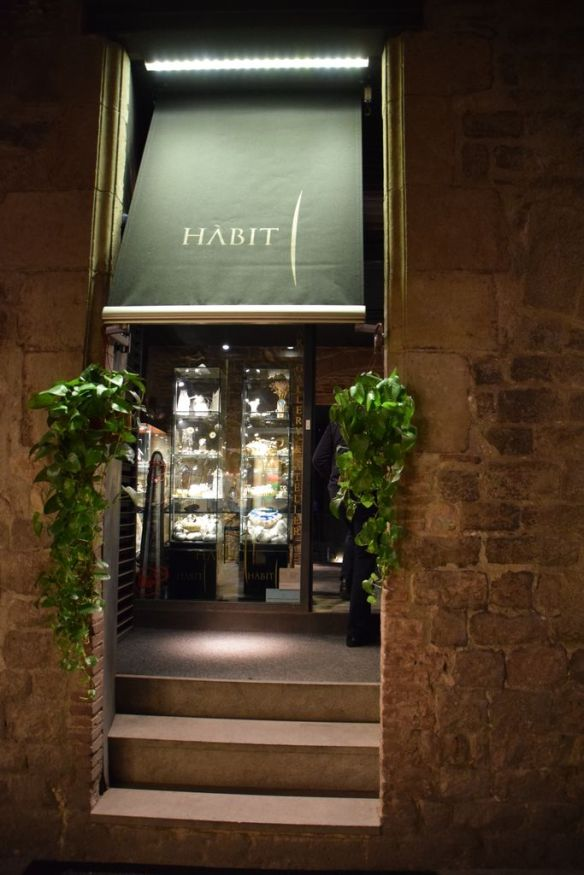 Habit boutique Barcelona Barcelone